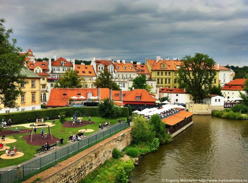 Прага, фото достопримечательностей - Остров Кампа