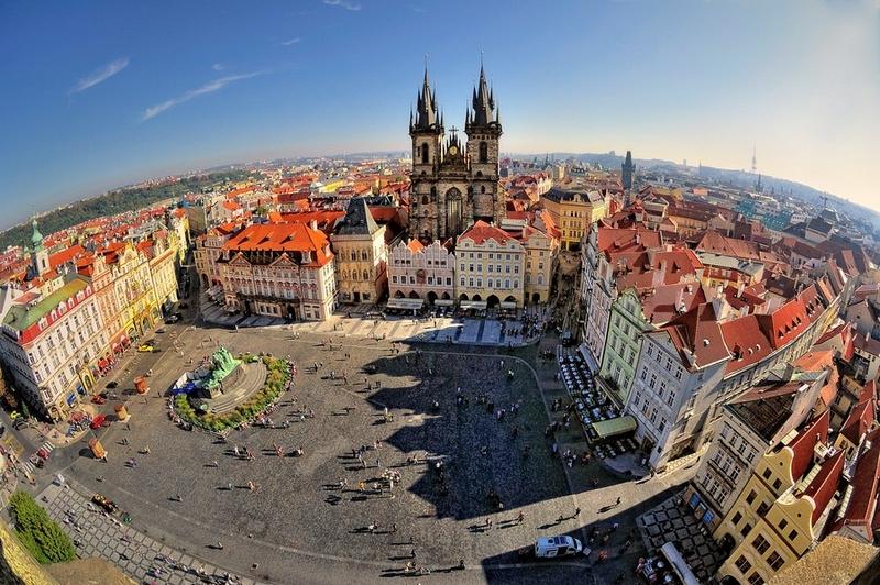 Прага, фото достопримечательностей - Староместская площадь