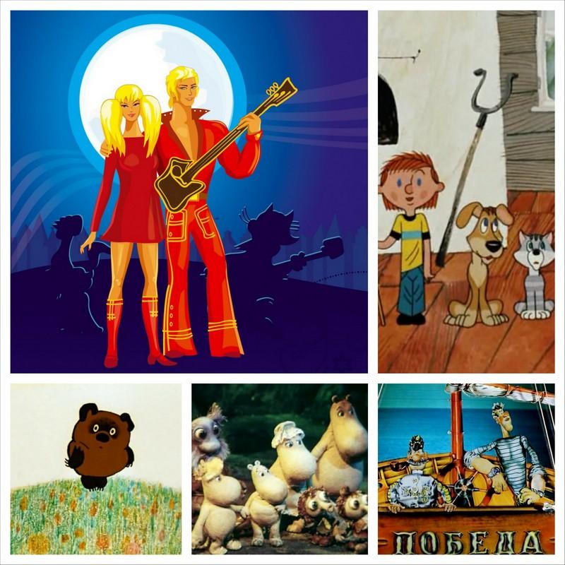 Русские мультфильмы, созданные по любимым произведениям 19