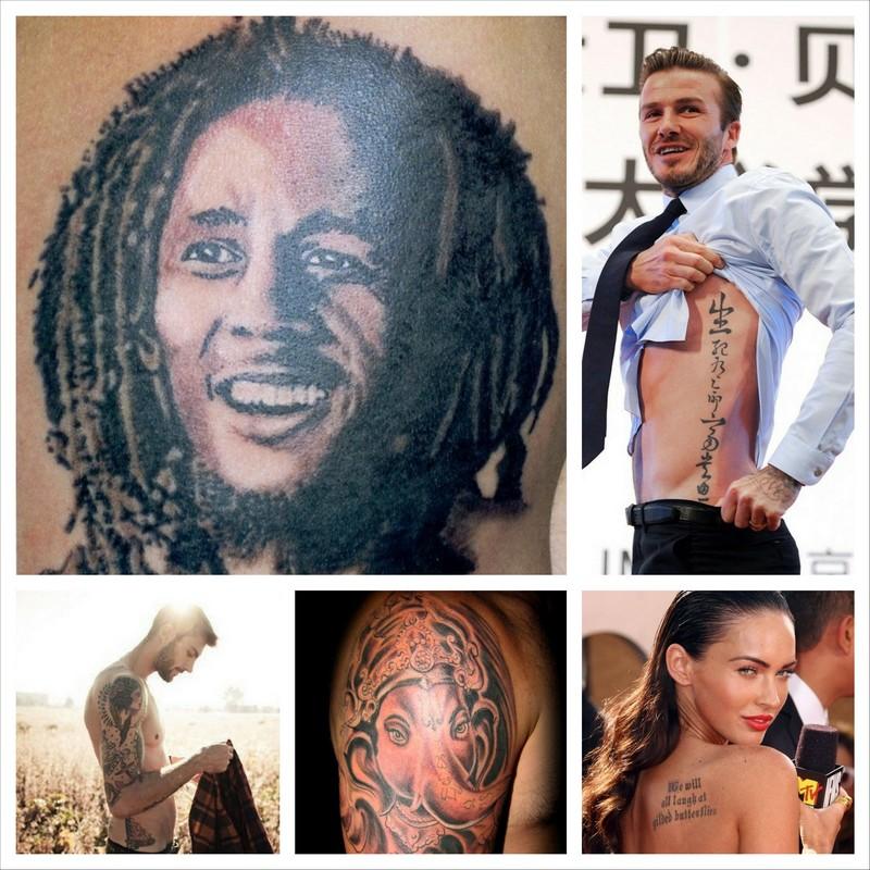 Способы выведения татуировок с тела