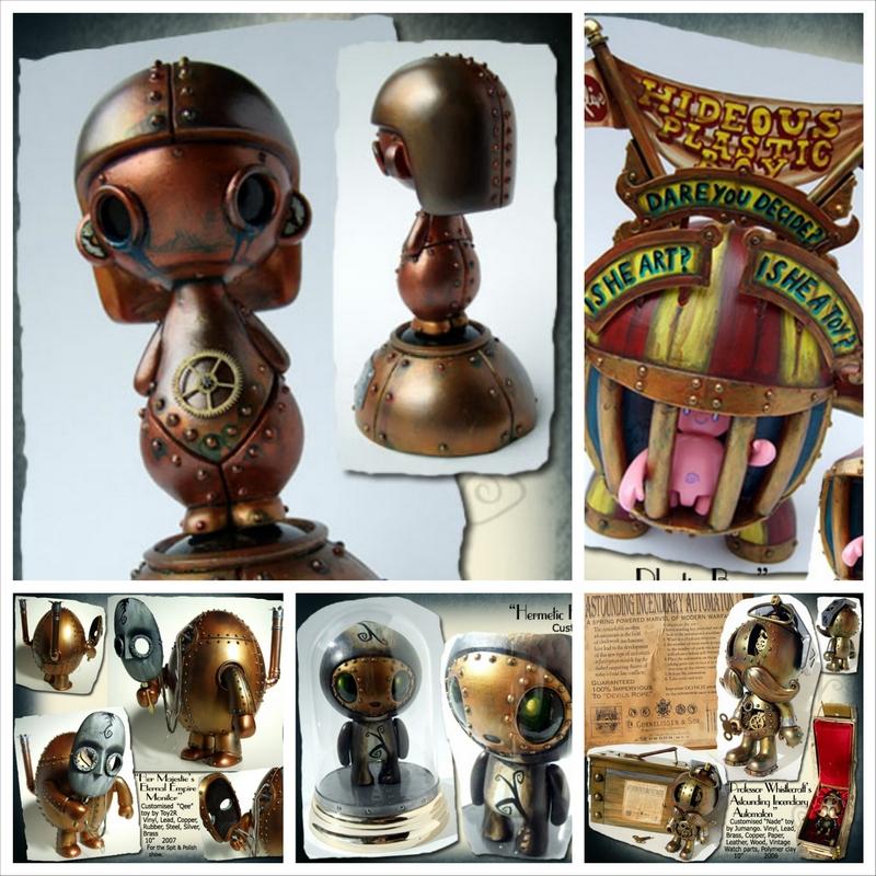 Авторские игрушки ручной работы от Doktor A