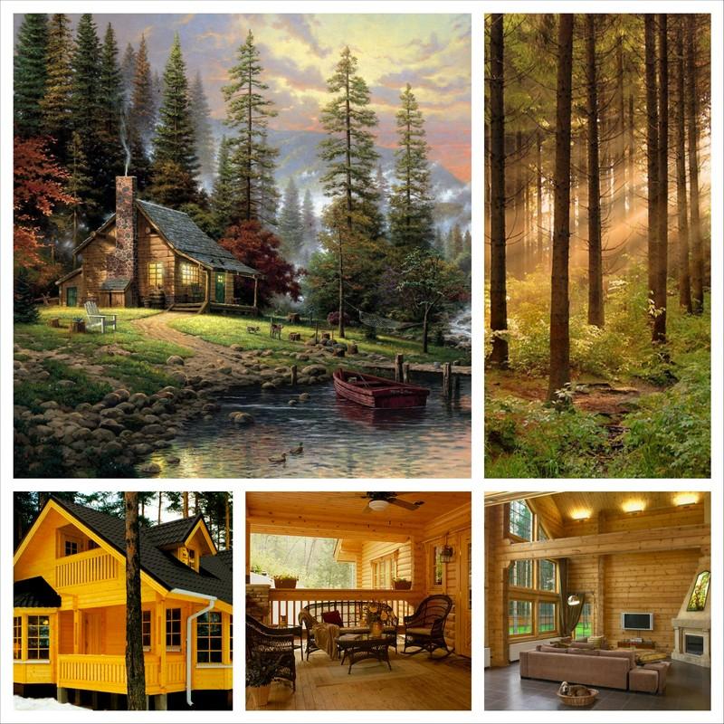 Деревянные дома, надежный и комфортный тип жилья 38
