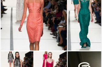 Дизайнерские вечерние платья от Elie Saab - коллекция весна лето 2014