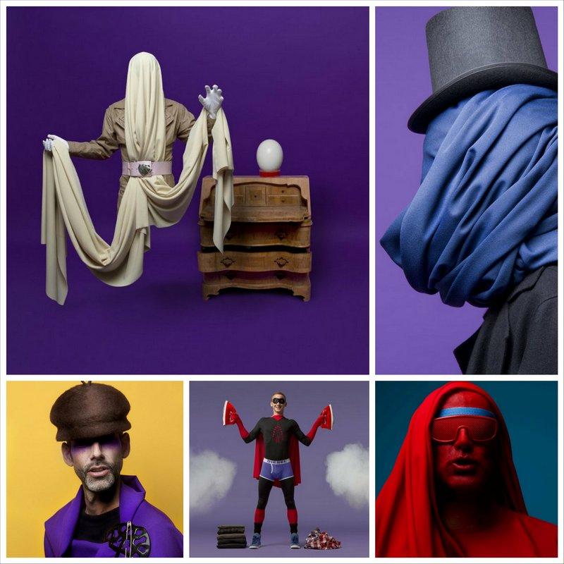 Креативные фотографии людей от Robert G. Bartholot