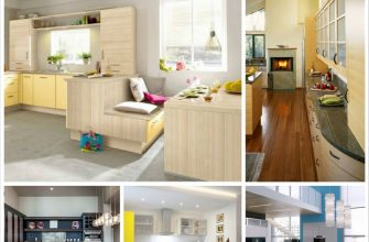Модный интерьер кухни в современном стиле