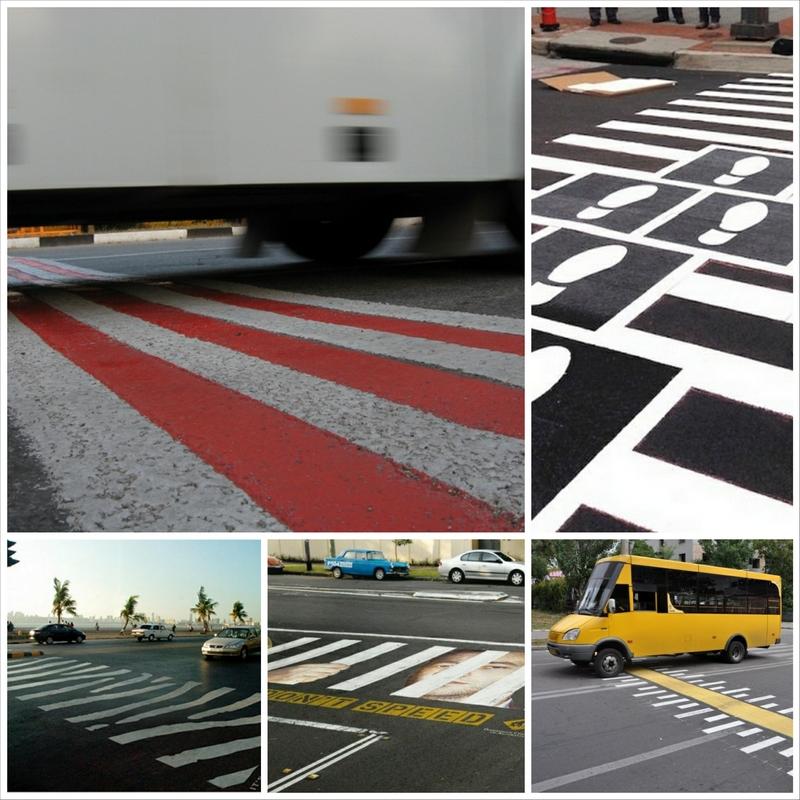 Зебра - пешеходный переход и его модификации
