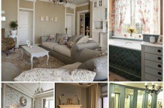 Французский стиль прованс в интерьере современных домов