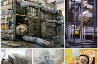Сюрреализм в живописи японца Тацуя Ишида