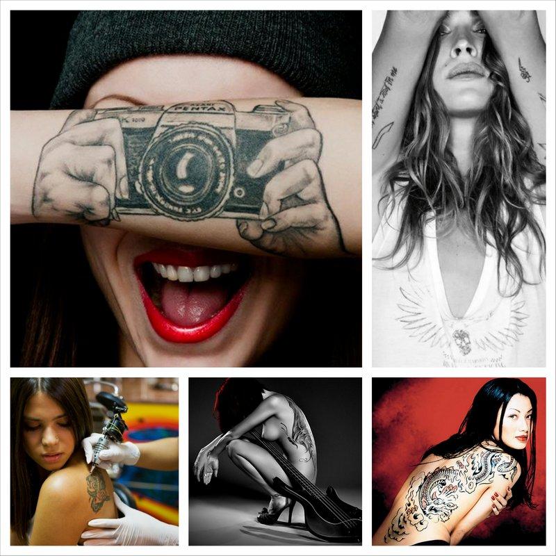 Татуировки на женском теле, самые завораживающие рисунки на Земле 20