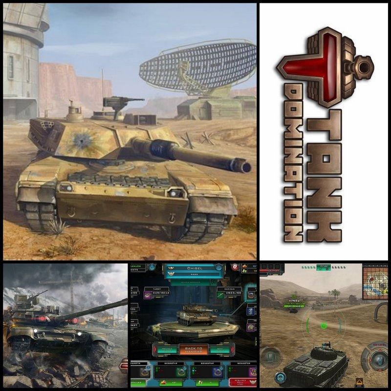 Вышла новая версия Tank Domination