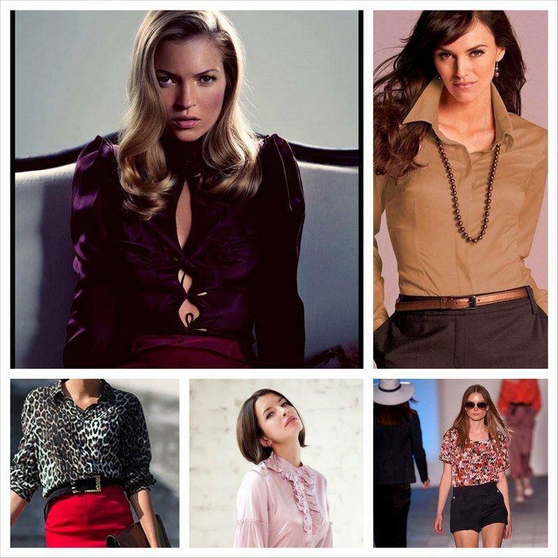 Женские блузки 2014, стильно и привлекательно 20_Fotor_Collage