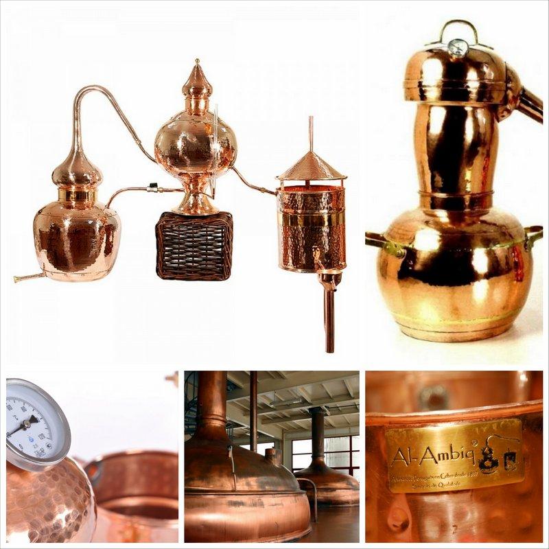 Аламбик или самогонный аппарат для алхимика