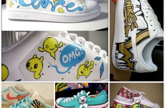 Креативные кроссовки - многообарзие видов
