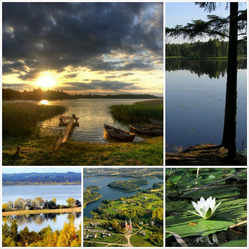 Национальный парк Браславские озера - самое красивое место Беларуси