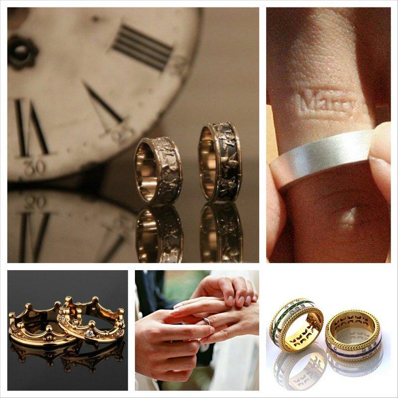 Необычные обручальные кольца - особенная история любви 21