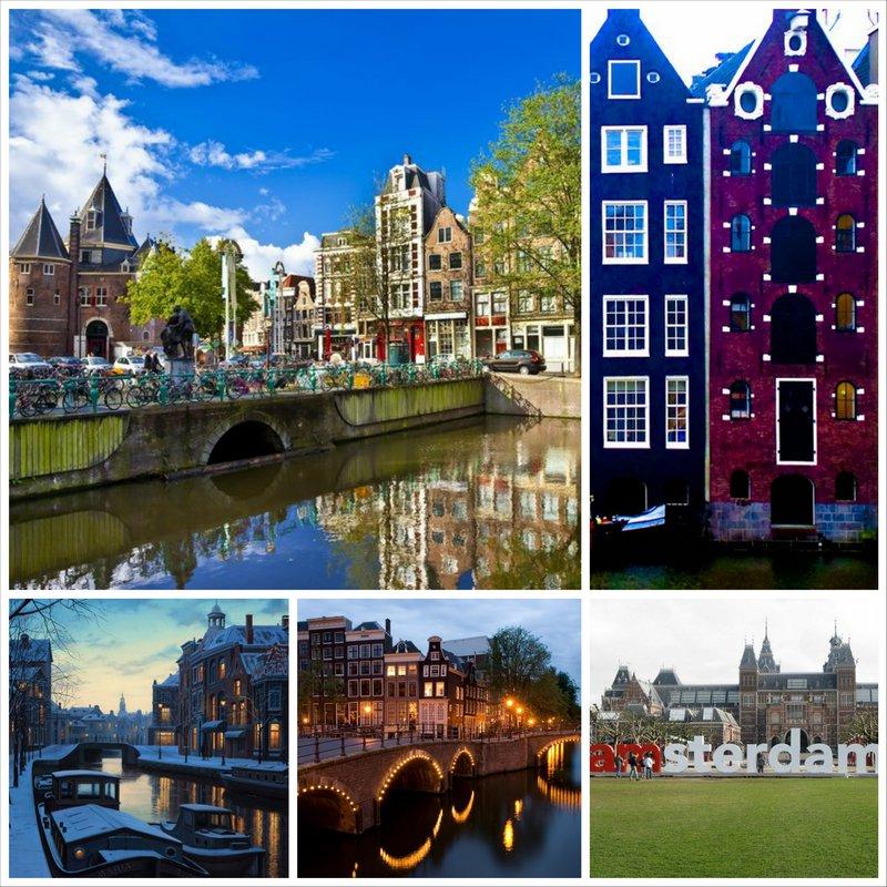 Очаровательный и доступный город Амстердам
