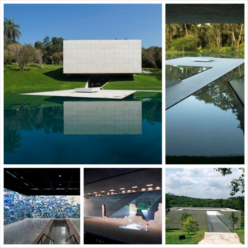 Галерея Adriana Varejão от компании Tacoa Arquitetos