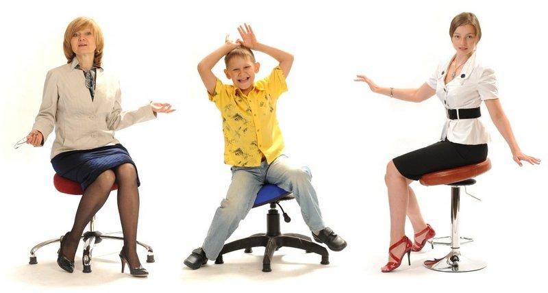 Ортопедический стул для школьника - танцующий тренинг для всего тела 1