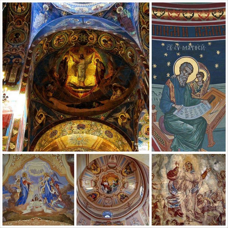 Роспись храма и мозаика