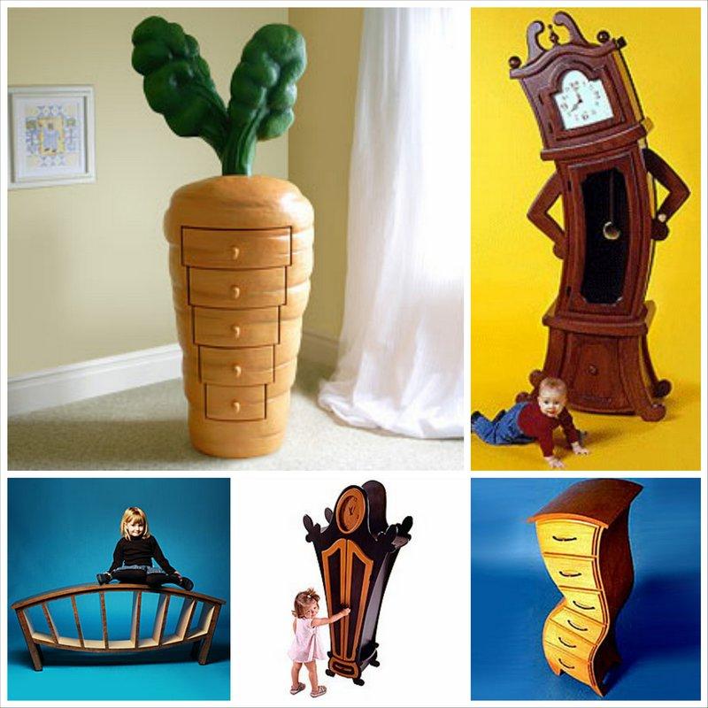 Сюрреалистичная детская мебель Hallucinations