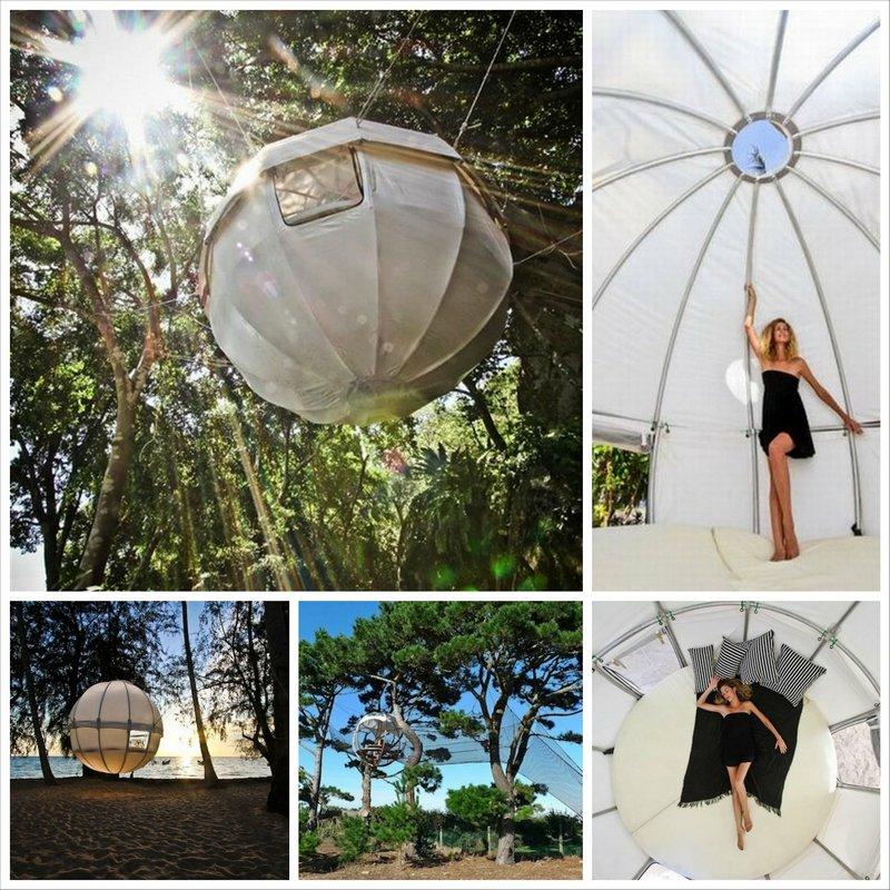 CocoonTree - палатки для отдыха на высоте