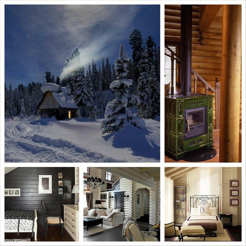 Дизайн интерьера деревянного дома и особенности декорирования 19