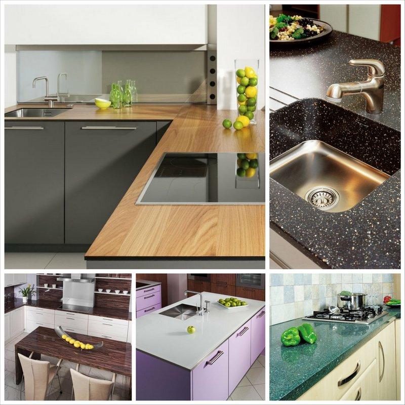 Выбираем кухонные столешницы - простые рекомендации