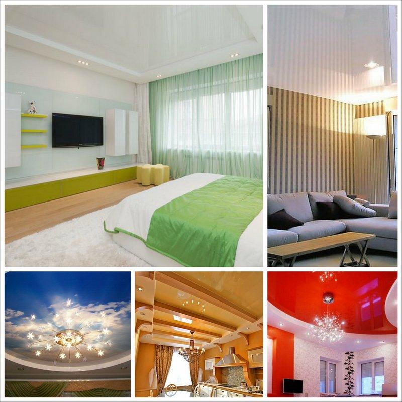 Натяжной потолок с подсветкой и без, как вариант собственного бизнеса