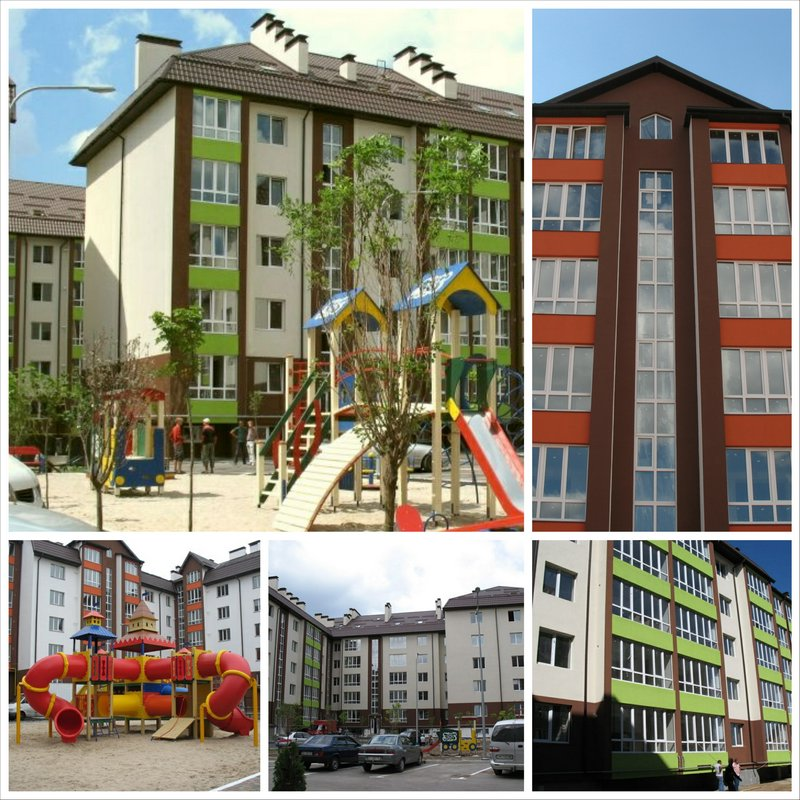 Новый жилой комплекс Львовский в пригороде Киева