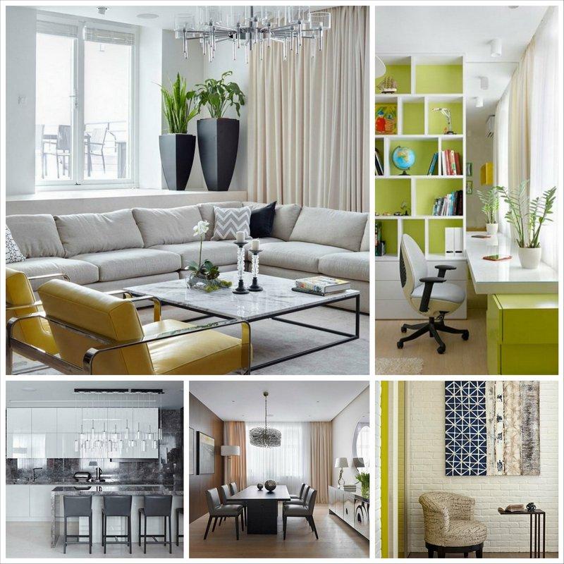 Современный интерьер квартиры от бюро Александры Федоровой