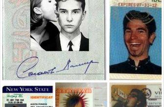 Смешные фото на документы разных видов