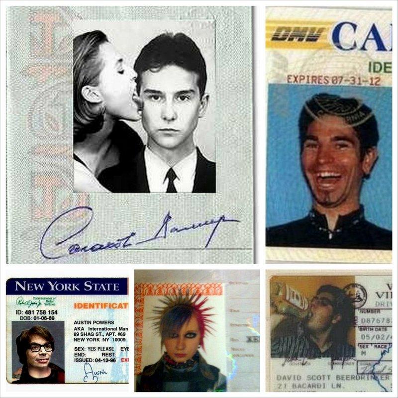 Смешные фото на документы