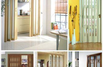 Межкомнатные двери гармошка в интерьере вашего дома