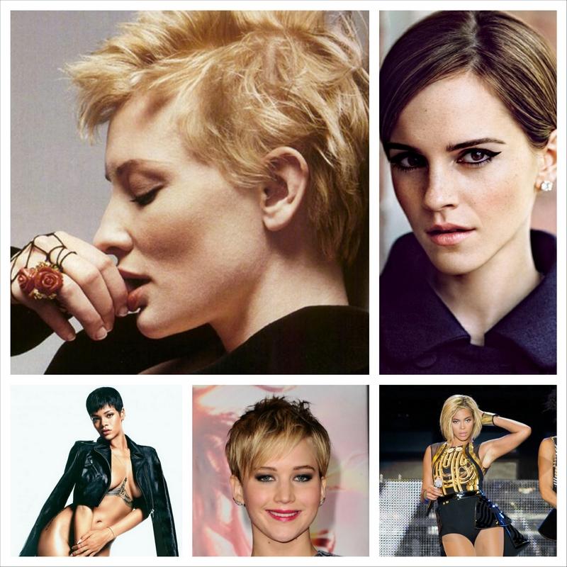 Стильные короткие стрижки от знаменитых женщин