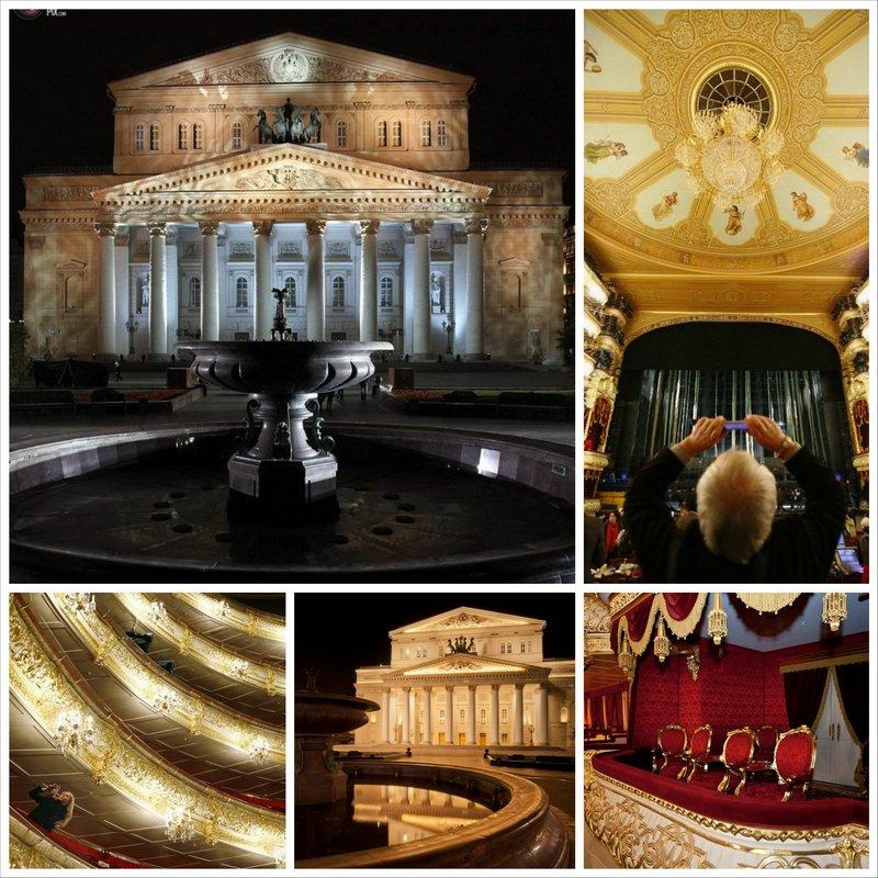 Большой театр в Москве - самый большой театр России