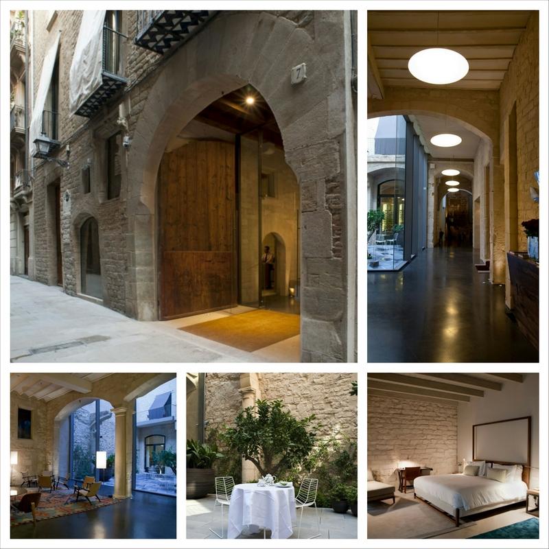 Испанская гостиница в городе Барселона - слияние древности с реальностью