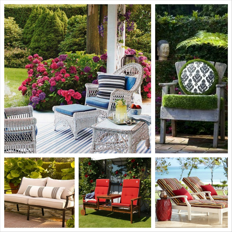 Мебель для сада и особенности ее выбора