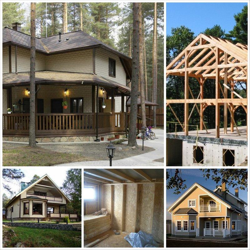 Каркасно-щитовые дома - современная технология строительства