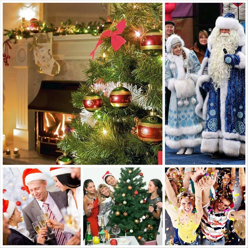 Тематический новогодний корпоратив зима или жаркое лето