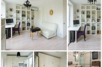 Дизайн малогабаритной квартиры - две комнаты на 31,5 метрах