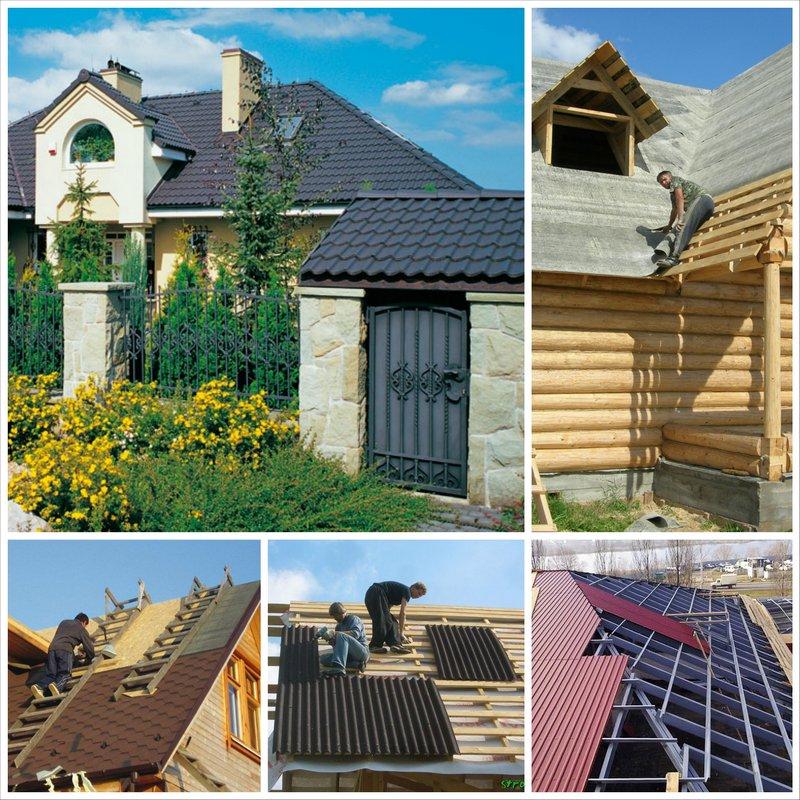 Крыша дома на новый лад