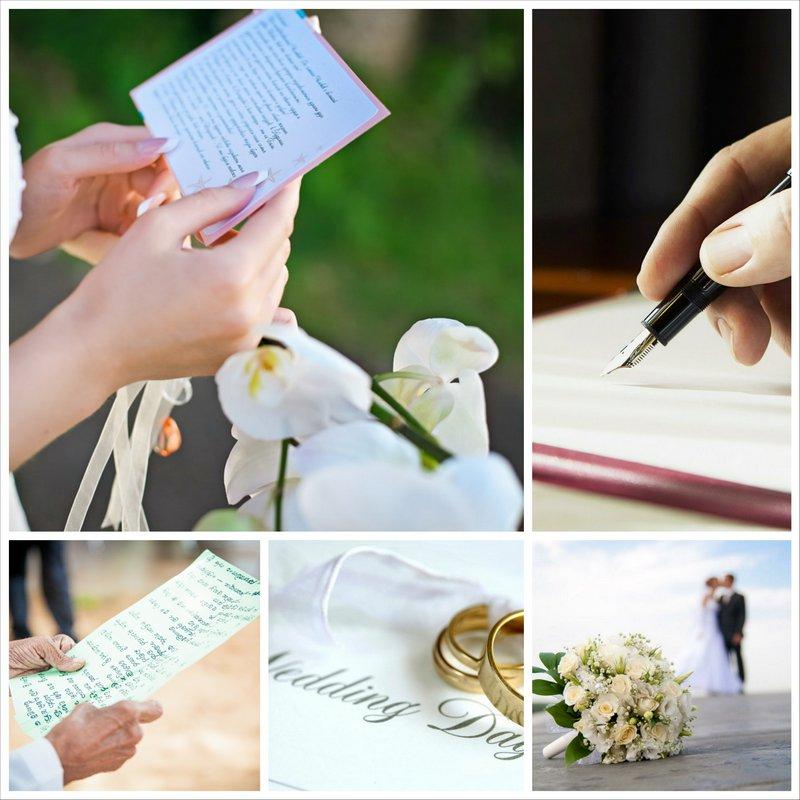 Свадебная клятва - cоветы по написанию важных слов