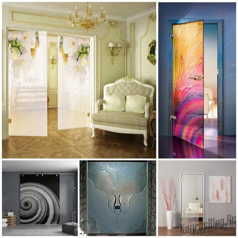 Cтеклянные двери в современном интерьере