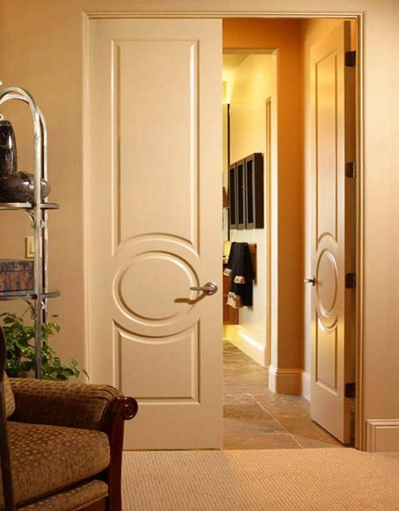Межкомнатные двойные двери фото в интерьере