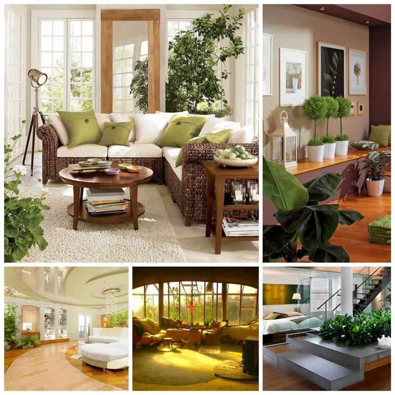 Экостиль интерьера в вашей квартире