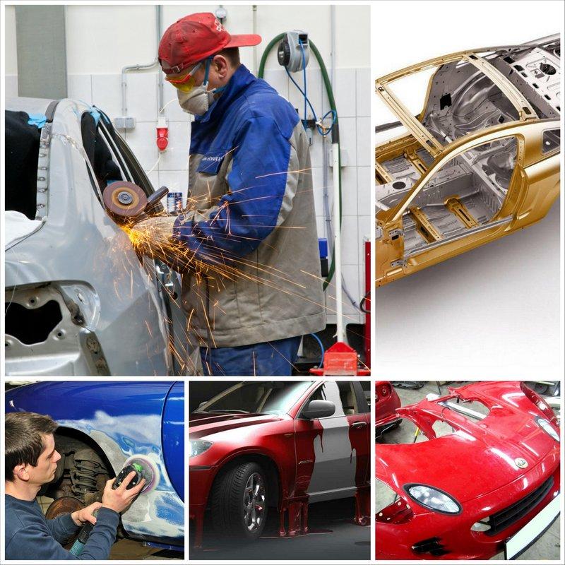 Кузовной ремонт своими руками - насколько это сложно