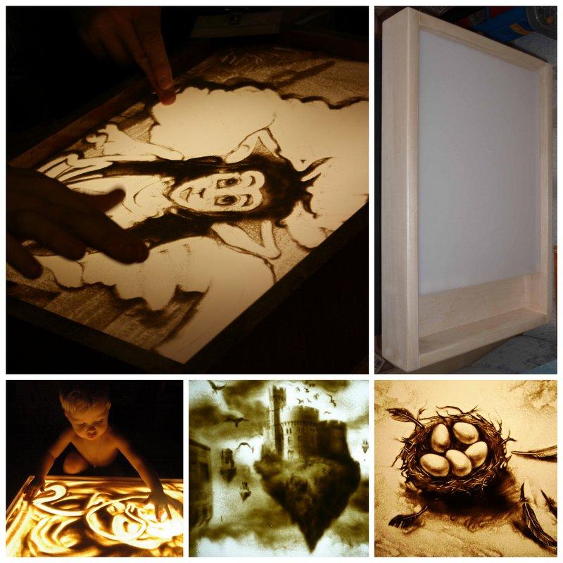 Рисование песком - интересный и доступный вид творчества