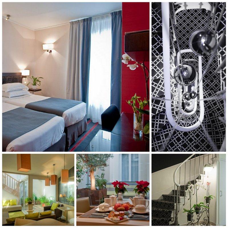 Уютный бутик-отель «Doisy Etoile» в Париже