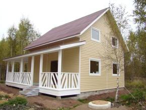 Выбор сайдинга для дачного дома