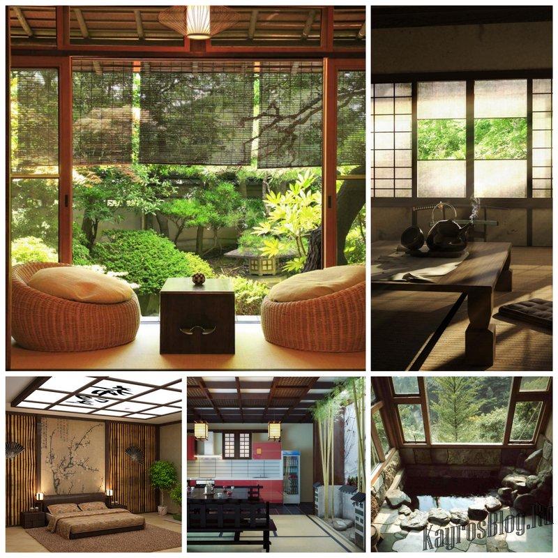 Интерьер в японском стиле - черты и особенности